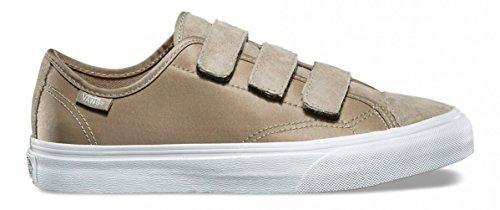 Vans Style 23 V Boom Boom Argento Saggio / Scarpe Da Skate Bianco Vero Taglia 9.5