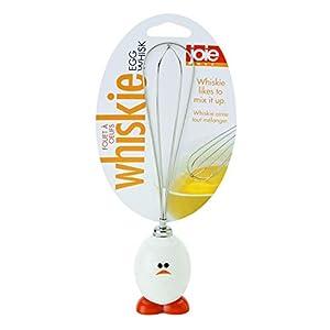 MSC International 96019 Joie Whisky Egg and Batter Whisk, Stainless Steel Wires, White, 1 EA