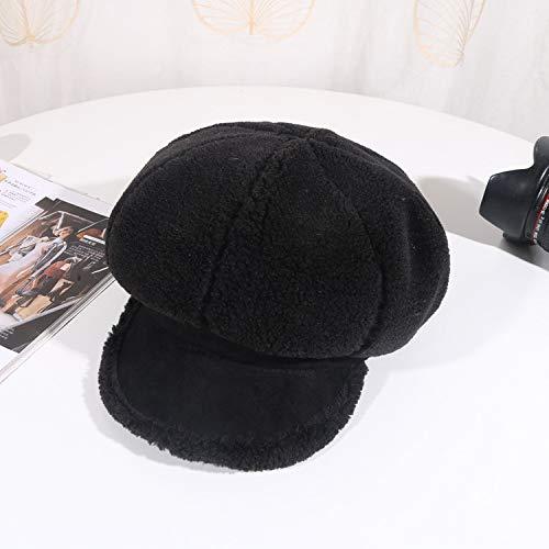Sombrero Azul Marino Boina Casual Mujer Inglaterra Gorra Juvenil ...