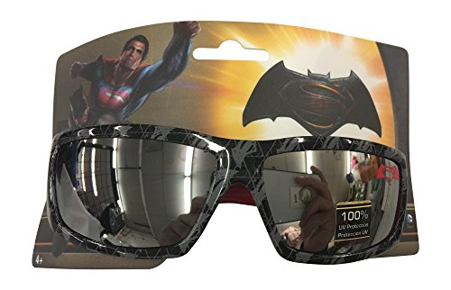 DC Comics Batman Vs Superman Childrens Kids Boys Black print Sunglasses - 100% UVA & UVB Protection