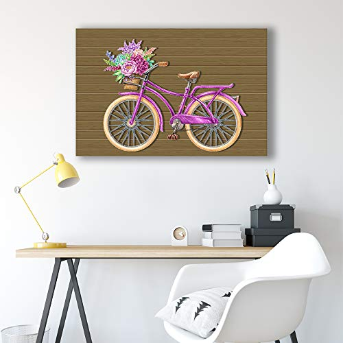 Bicycle Painting Wall Bedroom Living House