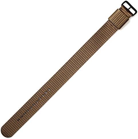 [マラソン]MARATHON US MILスペック ナイロン ストラップ 16mm デザートタン 時計 ベルト バンド [正規輸入品][腕時計][クロノワールド chronoworld][簡単キット付き]