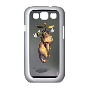 Cute Cat Pattern Hard Back Cell Phone Case for Samsung Galaxy Case S3 TSL323099