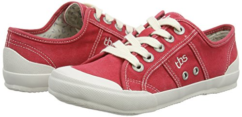 Tbs Women's rubis Opiace Red Sneaker q7wpqR