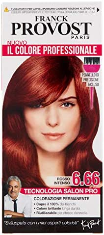 PROVOST Colorante Para el pelo Para colorear 6.66 Rojo ...