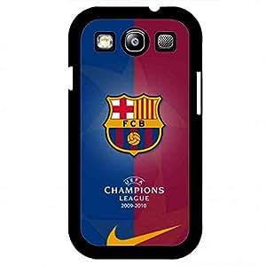 Samsung Galaxy S3 carcasa de telefono Hybrid Bumper funda de Futbol Club Barcelona Ultra Slim funda de Cover