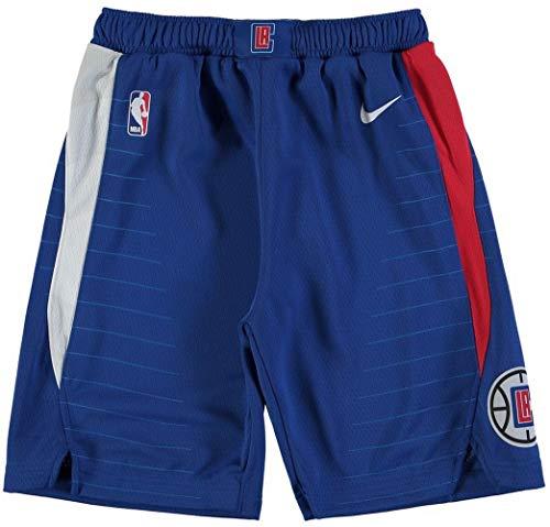 (Nike Youth LA Clippers NBA Royal Swingman Icon Performance Basketball Shorts Size Small)