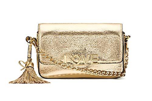 Victoria's Gold bag Crackle Secret Love Metallic Crossbody rArqYwF