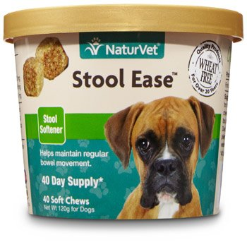 Naturvet Stool Ease Stool Softener For Dogs 40 Ct Soft