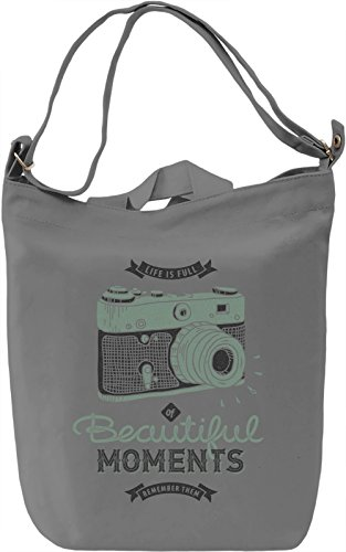 Beautiful moments Borsa Giornaliera Canvas Canvas Day Bag| 100% Premium Cotton Canvas| DTG Printing|