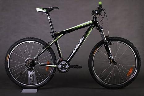 GT Avalanche 3.0 - Bicicleta de montaña, color negro/verde ...