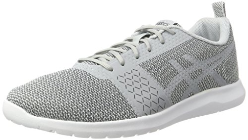 Asics Kanmei, Chaussures de Running Homme Gris (Mid Grey/Carbon)