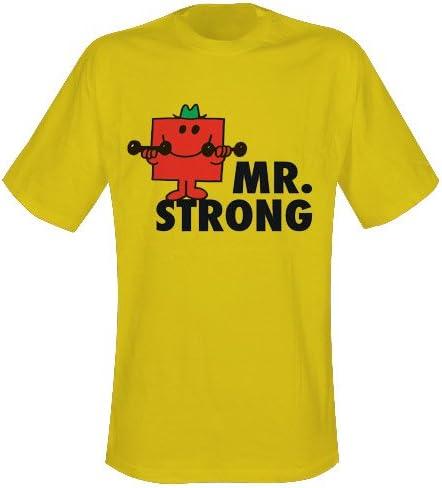 KIDS Mr Strong Tshirt cotton