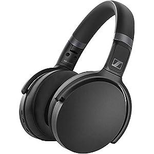 Sennheiser HD 450BT Over Ear Wireless Headphones, with Active Noise Cancellation, Black