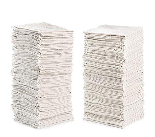 "Simpli-Magic 79142 Shop Towels (Pack of 150, Size: 12"" x 14"") Ideal for Cleaning, Auto and Home"