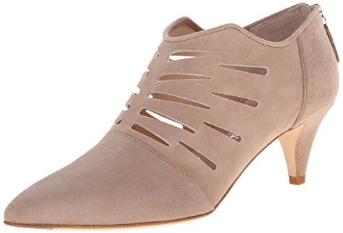 Aquatalia Women's Zakena Dress Pump, Stone Suede, 9 M US Aquatalia By Marvin K Pumps
