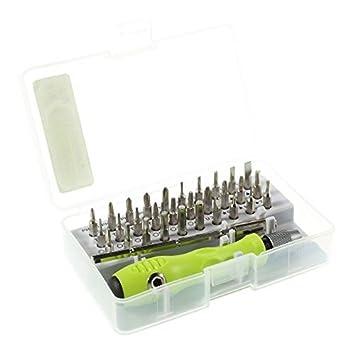 sparfix® - Aislin 7389 C Kit 32 en 1 multifunción destornillador de ...