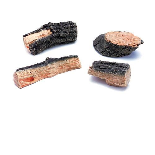 Decorative Chips - 4 Charred Chips/Box by Fireside Collection