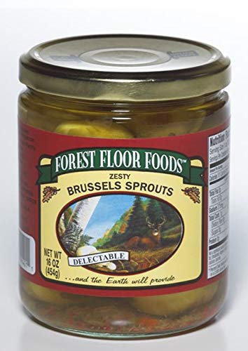 Amazon Com Forest Floor Foods Zesty Brussels Sprouts 14 5