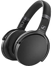 Sennheiser HD 450BT Black Active Noise Cancellation Over-Ear Headphones (HD 450BT)