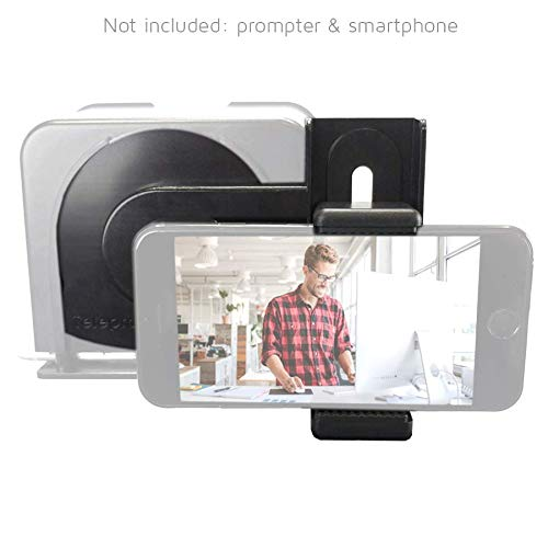 TP-Smartclip Accessory for Parrot teleprompter 1 & 2 [Prompter not Included]. Record Video with Your Smartphone on a Parrot Teleprompter by TELEPROMPTER PAD (Image #1)