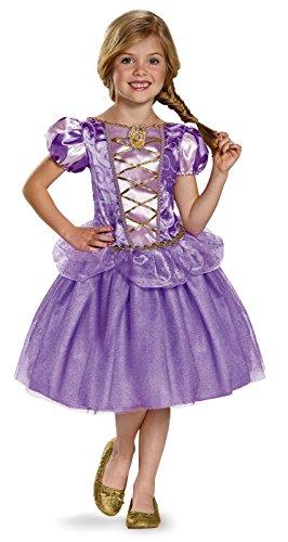 Rapunzel Classic Disney Princess Tangled Costume, Medium/7-8 ()