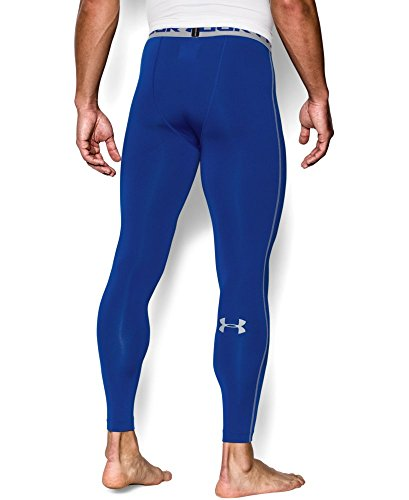 Under Armour Men's HeatGear Armour Compression Leggings, Royal /Steel, XXX-Large by Under Armour (Image #1)