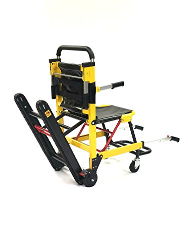 MSEC, MS3C-300TS Aluminum Alloy Emergency Stair Evacuation Chair, Load capacity: 350 lbs. by MSEC