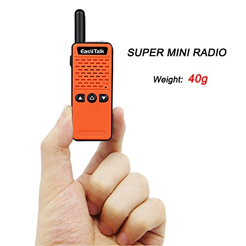 EasyTalk ET-M 2 Mini Walkie Talkie 16 channel UHF 400-520MHz