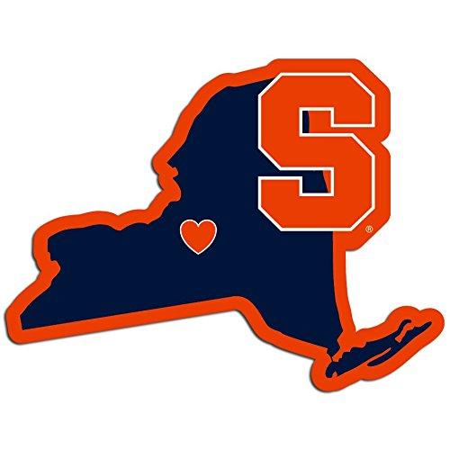 Ncaa Syracuse Orange Home State Decal  5 Inch
