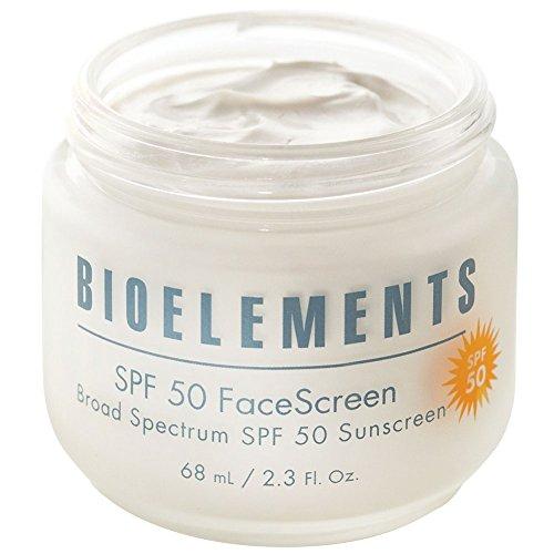Bioelements FaceScreen SPF 50 Moisturizer 2.3 oz - Bioelements Antioxidant Cleanser