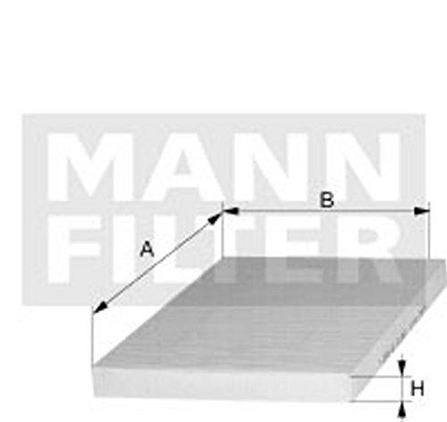 Mann Filter CUK 5011 Filter, interior air by Mann Filter