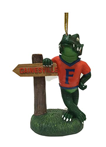 - Oxbay Florida Gators Mascot with Gainesville Sign