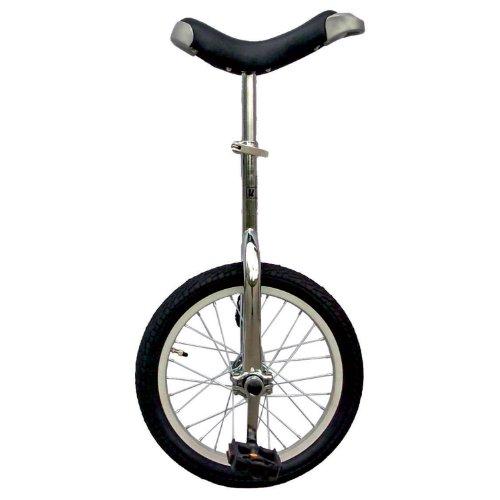 Fun 16-Inch Unicycle - CHROME