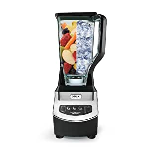 Ninja NJ600WMC Professional Blender, Black Silver