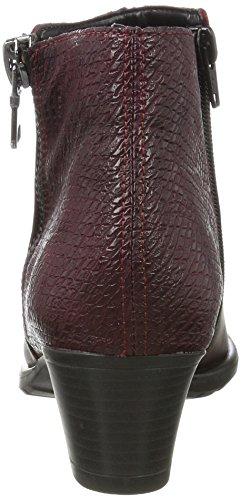 Remonte Chianti D3187 para Botas Rojo Bordeaux Mujer r0rPTAxqw