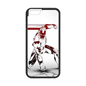 Comics Iron Man red art iPhone 6 4.7 Inch Cell Phone Case Black DWRS6513591712817