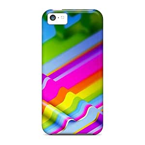 Hot Style BCB2267ycEh Protective Case Cover For Iphone5c(colorful Life)
