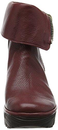 Short London Ladies Yex668fly Short Boots Rosso (cordobared 010)