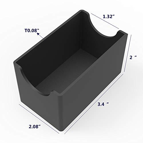 FixtureDisplays Sugar Packet Holder - Black 19683