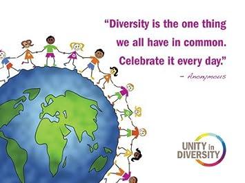 Amazon.com: Celebrate Diversity Motivational and Inspirational ...