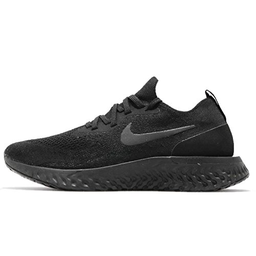003 Wmns Black Nero Flyknit Scarpe React Epic Black Donna Running Black NIKE 4Pqgq
