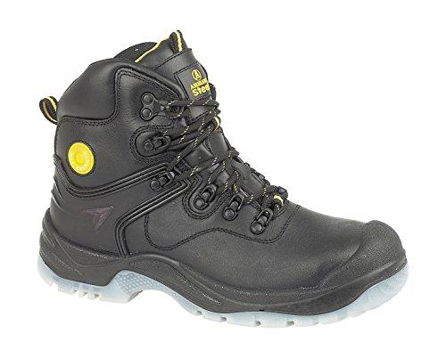 Amblers , Chaussures de sécurité pour homme Noir Noir 7