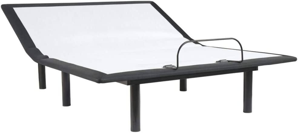 Ashley Furniture Signature Design - Adjustable Head Base - King Adjustable Base - White