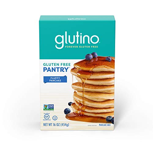 - Gluten Free by Glutino Pantry Pancake Mix, Warm & Delightful Breakfast, 16 Ounce