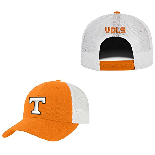 Top of the World Tennessee Volunteers Adult NCAA Team Spirit Structured Fit Meshback Hat - Team Color,