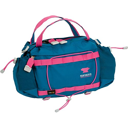 Mountainsmith Tour WSD Lumbar Pack - Women's Glacier Blue/Berry Pink Trim, One Size (Berry Trim)