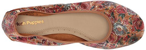 Hush Puppies Women's Chaste Ballet Flat Floral Print discount sneakernews 2owa8