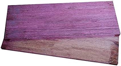 Aibote 1 Paar Nat/ürliches Violettes lila Holz Messergriffwaagen Holzgriffe Materialplattenmesser Benutzerdefinierte DIY-Werkzeuge f/ür die Schmuckherstellung leeren Klingen 90X90X20MM