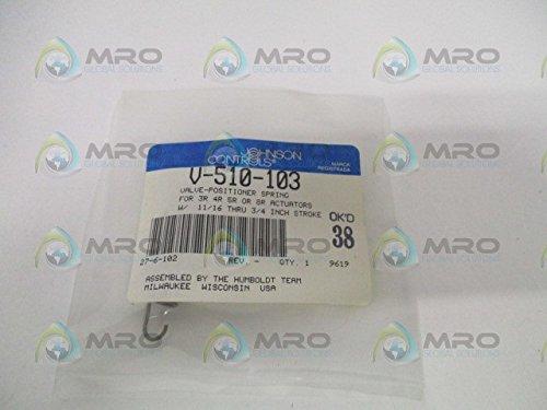 - Johnson Controls V-510-103 V-9502 Series Pneumatic Valve Actuator Positioner, 11/16